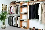 Reach In Closet Organizer System MAPLE SPICE