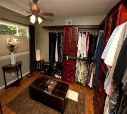 Closet Organizers Cherry1 Customer Installation
