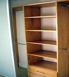 Closet Organizer-extra Shelves & Drawers
