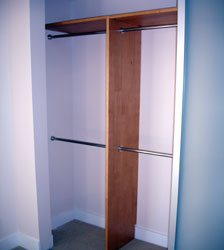 Closet Shelves and Rods Extender Setup