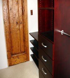 Walk In Closet Organizer with Drawers & large Shoe Rack