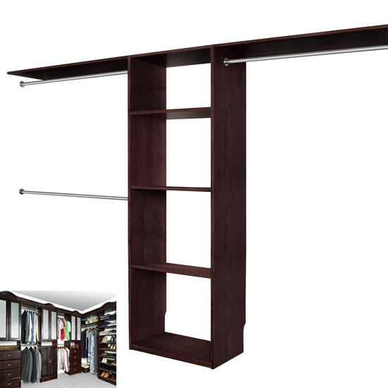 Solid Wood Closets Walk In Closet Organizer System