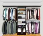 Walk In Closet Organizers Pre Configured #1